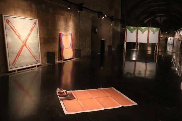 La Gòtika de l'Institut d'Estudis Ilerdencs acull la primera exposició de Jan Monclús a la seva Lleida natal