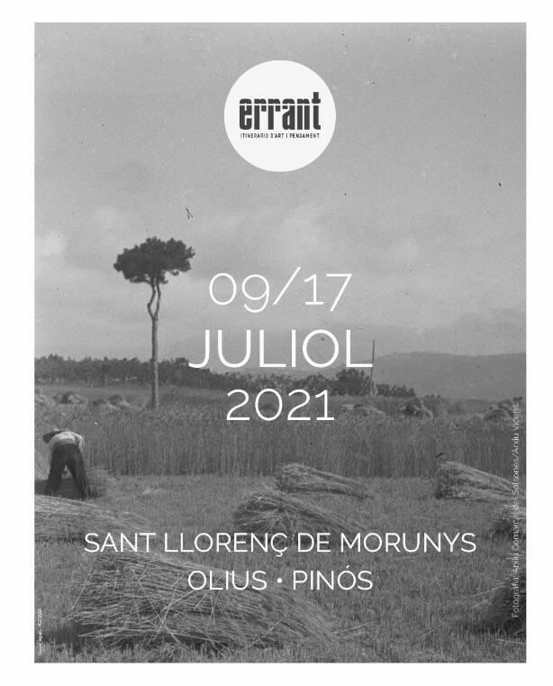 La segona edició d'Errant porta l'art i el pensament al Solsonès