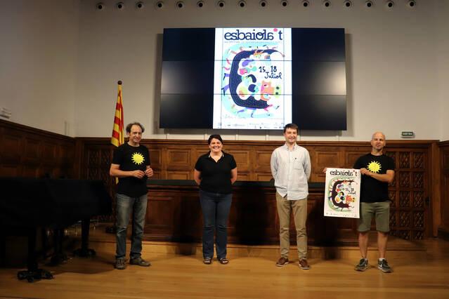 L'Esbaiola't, festival de referència de les arts escèniques del Pirineu, del 15 al 18 de juliol a Esterri d'Àneu amb el suport de l'IEI