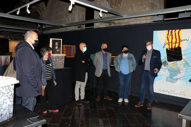 L'exposició col·lectiva itinerant '55 urnes per la llibertat' s'instal·la a la Zona Zero i l'Espai IX de l'IEI del 21 d'abril al 27 de juny