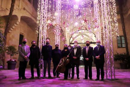 L'IEI il·lumina el Nadal amb la música de Pau Casals i l'encesa de La Càpsula de les Estrelles