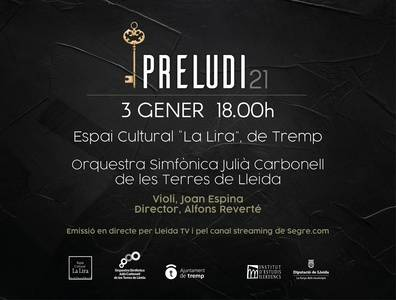 L'IEI instaura un concert d'Any Nou de l'Orquestra Julià Carbonell que s'estrenarà el 3 de gener a Tremp sota el nom de Preludi 21