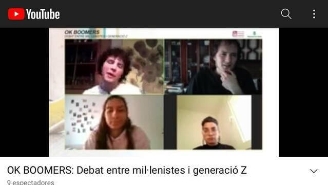 L'IEI posa sobre la taula les divergències i les connexions entre millenials i generació Z a través d'un debat telemàtic