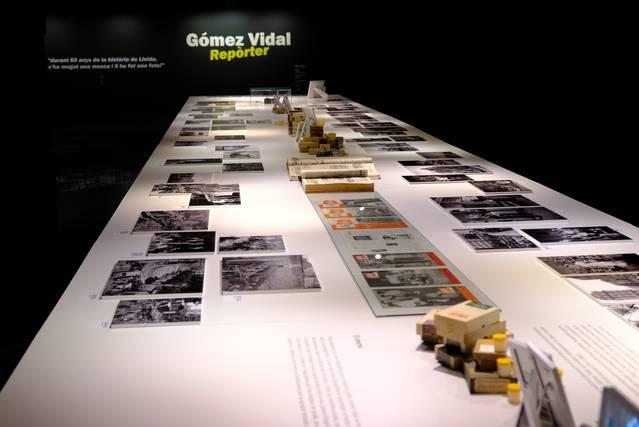 L'IEI presenta la primera exposició monogràfica dedicada al fotògraf lleidatà Josep Gómez Vidal, figura cabdal del fotoperiodisme de Ponent