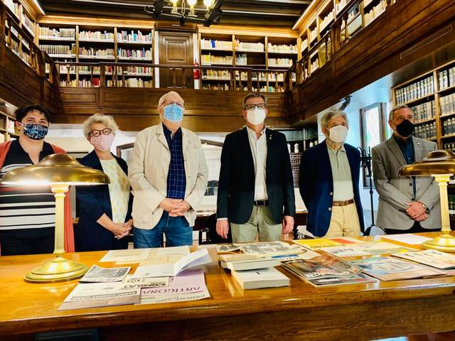 L'IEI rep el fons de publicacions periòdiques de Jaume Barrull i el de l'arxiu fotogràfic de Lluís Terrés