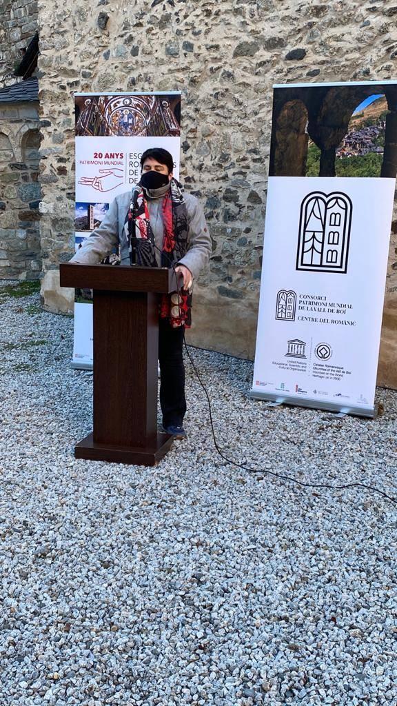 L'Institut d'Estudis Ilerdencs celebra amb la Vall de Boí els 20 anys de la declaració del conjunt romànic com a Patrimoni Mundial de la UNESCO