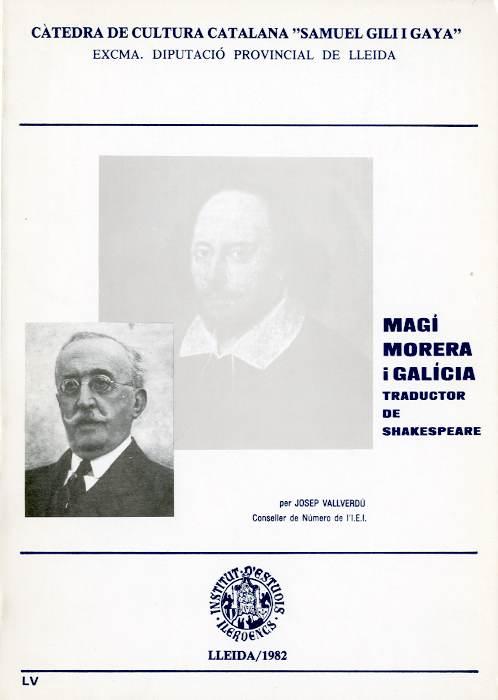 Magí Morera i Galícia, traductor de Shakespeare