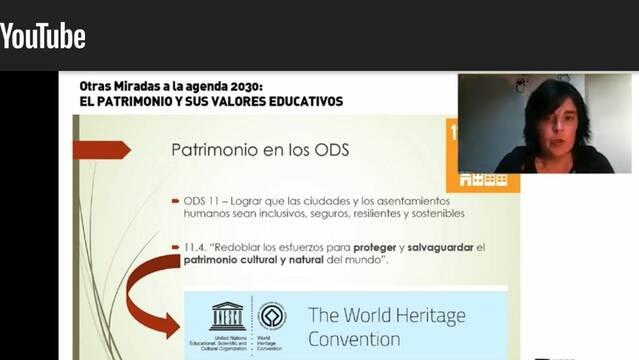 Maider Maraña, directora de la fundació Baketik ens apropa el valor educatiu del patrimoni dins l'Agenda 2030