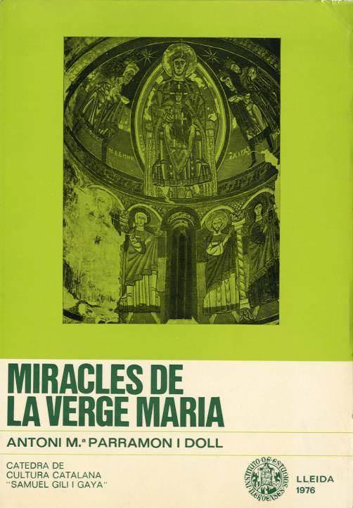 Miracles de la Verge Maria