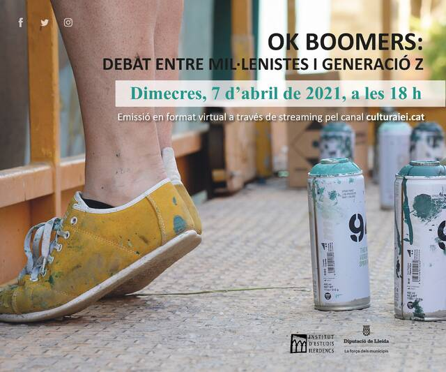 OK BOOMERS: Debat entre millenials i generació Z