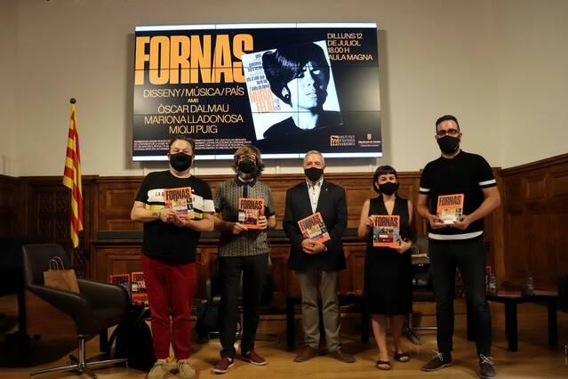 Òscar Dalmau, Mariona Lladonosa i Miqui Puig parlen a l'IEI de disseny, música i país al voltant de la figura de Jordi Fornas