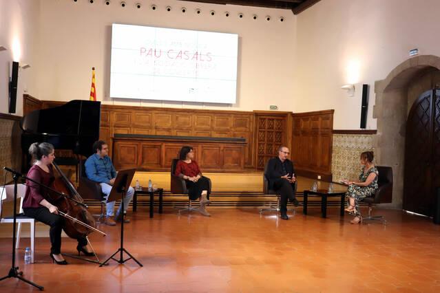 Pau Casals i l'Associació Obrera de Concerts, protagonistes d'un diàleg amb música a l'Institut d'Estudis Ilerdencs