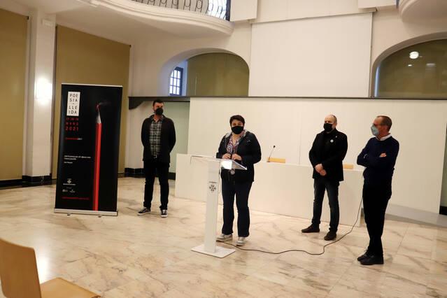 Poesia Lleida oferirà xerrades, recitals i espectacles musicals poètics gratuïts del 17 al 19 de març amb el suport de l'IEI