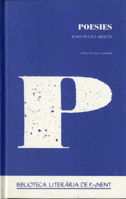 Poesies Joan Duch i Arqués