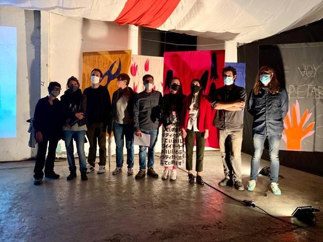 """Talarn defensa a Vilaller que la cultura """"és una inversió, mai una despesa"""" en la inauguració del primer festival Errant, organitzat per l'IEI"""