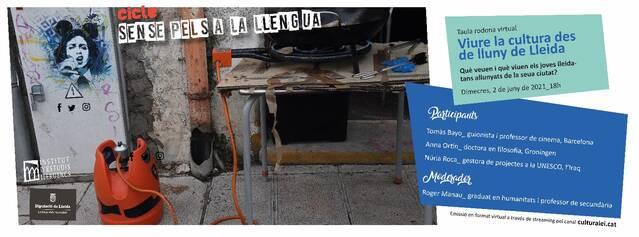 Viure la cultura des de lluny de Lleida (Cicle sense pèls a la llengua)