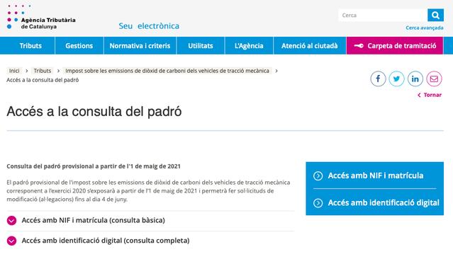 COMUNICAT CERTIFICAT D' IDONEÏTAT 2020 / COMUNICADO CERTIFICADO DE IDONEIDAD 2020